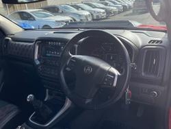 2018 Holden Colorado LTZ RG MY18 4X4 Dual Range Red