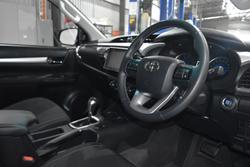 2017 Toyota Hilux SR5 GUN126R 4X4 Dual Range Eclipse Black