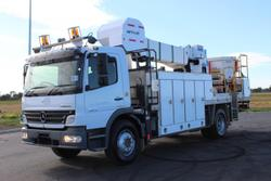 2010 Mercedes Benz 1629 Atego EX-GOVERNMENT / LOW KMS White
