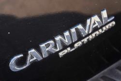 2015 Kia Carnival Platinum YP MY15 Aurora Black