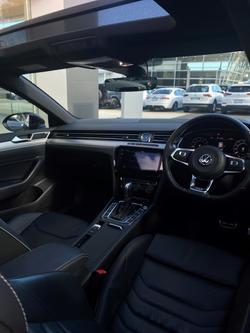 2018 Volkswagen Arteon 206TSI R-Line 3H MY19 Four Wheel Drive Deep Black