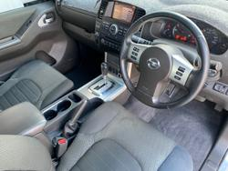 2014 Nissan Navara ST D40 Series 6 4X4 Silver