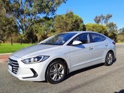 2017 Hyundai Elantra Active AD MY17 Platinum Silver