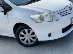 2011 Toyota Corolla Ascent ZRE152R MY11 White