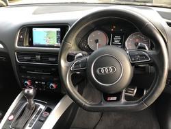 2015 Audi SQ5 TDI 8R MY15 Four Wheel Drive Mythos Black