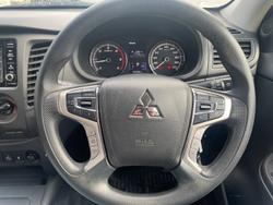 2019 Mitsubishi Triton GLX ADAS MR MY20 4X4 Dual Range White