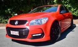 2016 Holden Commodore SV6 Black VF Series II MY16 Red