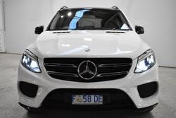 2016 Mercedes-Benz GLE-Class GLE250 d W166 Four Wheel Drive Polar White