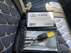 2020 LDV V80 LOW ROOF SHORT WHEEL WHITE