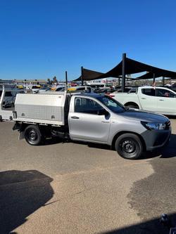2015 Toyota Hilux SR GUN123R Silver Sky