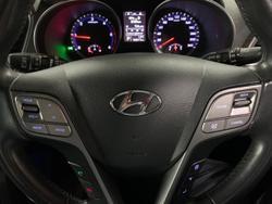 2012 Hyundai Santa Fe Active DM MY13 4X4 On Demand Red