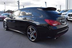 2016 Mercedes-Benz CLA-Class CLA250 Sport X117 Four Wheel Drive Black