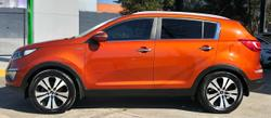 2010 Kia Sportage Platinum SL 4X4 On Demand Orange
