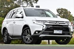 2017 Mitsubishi Outlander Exceed ZK MY17 4X4 On Demand White
