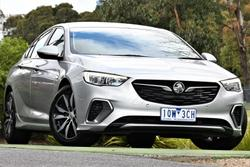 2018 Holden Commodore RS ZB MY18 Nitrate Silver