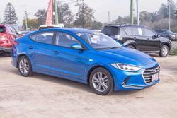 2016 Hyundai Elantra Active AD MY17 Marina Blue
