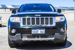 2012 Jeep Grand Cherokee Overland WK MY13 4X4 Constant Black