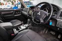 2016 Mitsubishi Pajero GLS NX MY16 4X4 Dual Range Graphite Grey