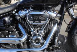 2021 Harley-davidson FLFBS FAT BOY (114) VIVID BLACK
