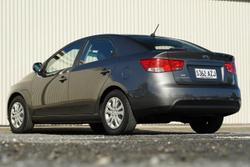 2012 Kia Cerato Si TD MY12 Grey