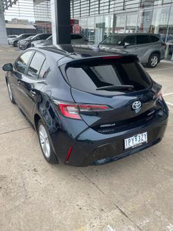 2019 Toyota Corolla SX Hybrid ZWE211R Black