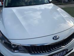 2019 Kia Optima Si JF MY19 White