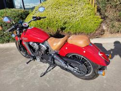 2016 Indian SCOUT Indian Red