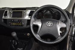 2014 Toyota Hilux SR5 KUN26R MY14 4X4 Dual Range Silver
