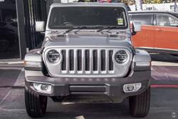 2021 Jeep Wrangler Unlimited Overland JL MY21 4X4 Dual Range Silver
