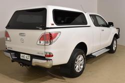 2013 Mazda BT-50 XTR UP 4X4 Dual Range Cool White