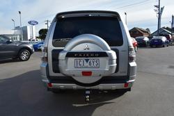 2014 Mitsubishi Pajero Exceed NW MY14 4X4 Dual Range Cool Silver