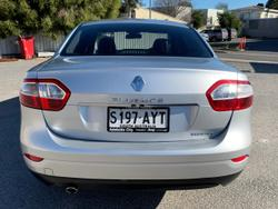2011 Renault Fluence Privilege L38 Silver