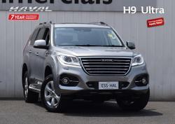 2021 Haval H9 Ultra MY19 Four Wheel Drive Grey