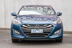 2013 Hyundai i30 Trophy GD2 MY14 Dazzling Blue