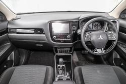 2019 Mitsubishi Outlander ES ZL MY20 Sterling Silver
