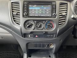 2018 Mitsubishi Triton GLX MQ MY18 4X4 Dual Range White