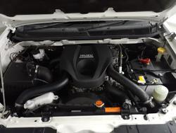 2016 Isuzu D-MAX LS-U MY15 4X4 Dual Range Splash White