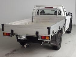 2020 Nissan Navara DX D23 Series 4 4X4 Dual Range Polar White