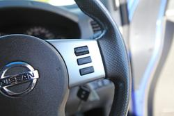 2014 Nissan Navara ST-X 550 D40 Series 5 4X4 Dual Range Blue