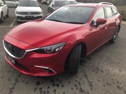 2017 Mazda 6 Atenza GL Series Red