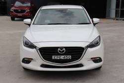 2017 Mazda 3 SP25 GT BN Series White
