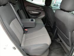 2017 Mitsubishi Triton GLS Sports Edition MQ MY17 4X4 Dual Range White