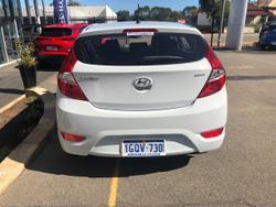 2018 Hyundai Accent Sport RB6 MY19 White