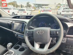 2015 Toyota Hilux SR5 GUN126R 4X4 Dual Range Eclipse Black