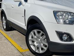 2012 Holden Captiva 5 CG Series II MY12 Summit White