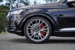 2017 Audi SQ7 TDI 4M MY17 Four Wheel Drive Black