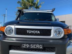 2014 Toyota FJ Cruiser GSJ15R MY14 4X4 Dual Range Black