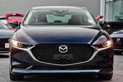 2021 Mazda 3 G20 Touring BP Series Deep Crystal Blue