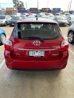 2010 Toyota Corolla Ascent ZRE152R MY10 Red