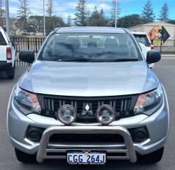 2016 Mitsubishi Triton GLX+ MQ MY16 4X4 Dual Range Sterling Silver